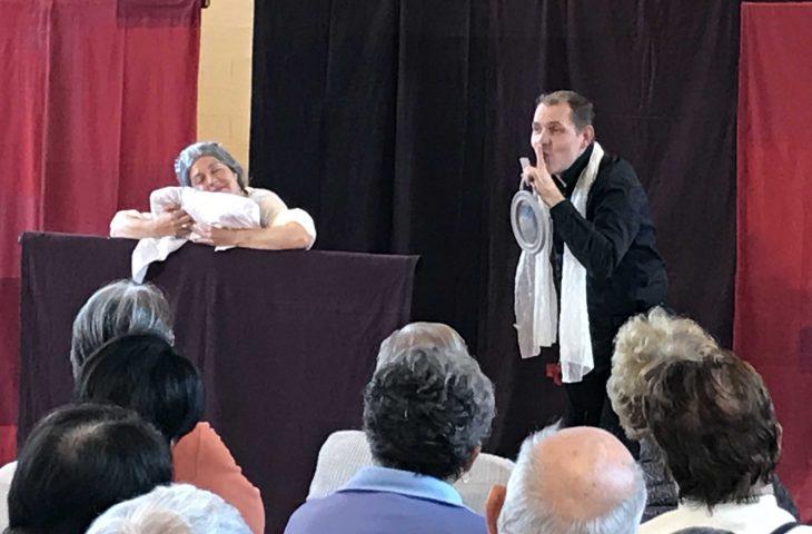 Troubles du sommeil: un théâtre-forum dans le Cantal